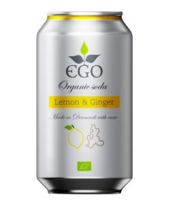 EBO bio limonáda citron zázvor