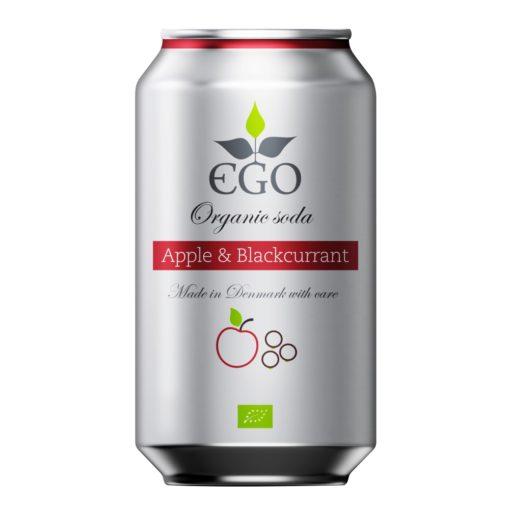 EGO bio limonáda jablko rybíz