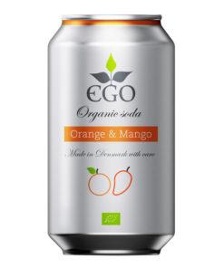 EGO bio limonáda pomeranč mango