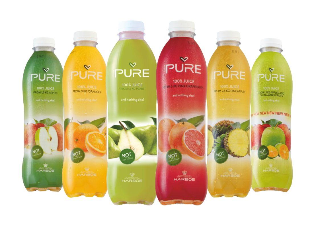 Ovocné šťávy PURE Juice